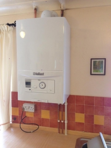 New Vaillant combi in place of old conventional boiler