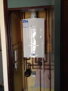 Remove tanks and install new Worcester Bosch Combi in its place- 8 Year warranty